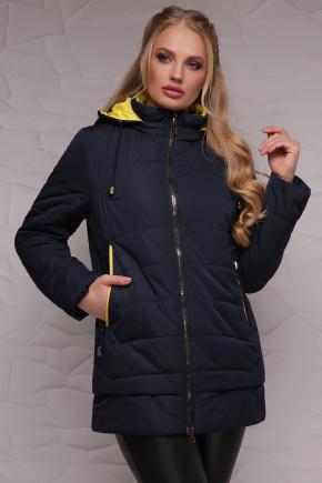 Куртка 17-095. Цвет: т.синий