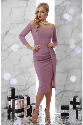 платье Амелия д/р. Цвет: лавандовый