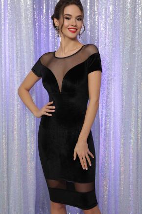 платье Владана к/р. Цвет: черный