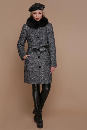 Пальто П-332 зм. Цвет: 1202-серый