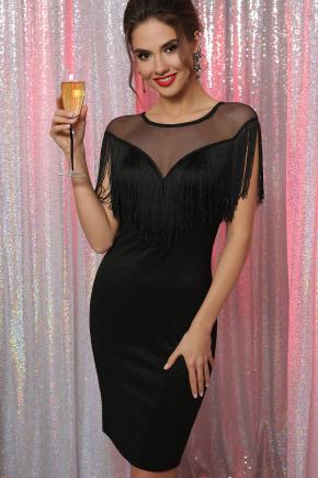 платье Шерон б/р. Цвет: черный