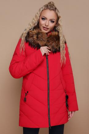 Куртка 18-182. Цвет: красный