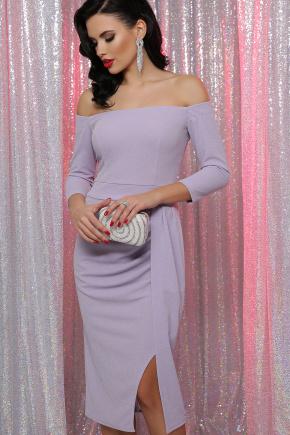 платье Амелия д/р. Цвет: св. сиреневый