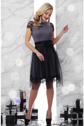 платье Тиана  к/р. Цвет: серый