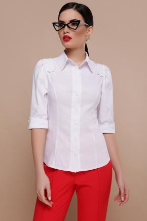 блуза Камила к/р. Цвет: белый