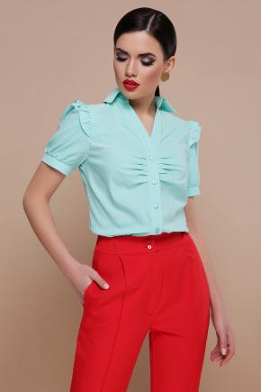 блуза Маргарита к/р. Цвет: мята