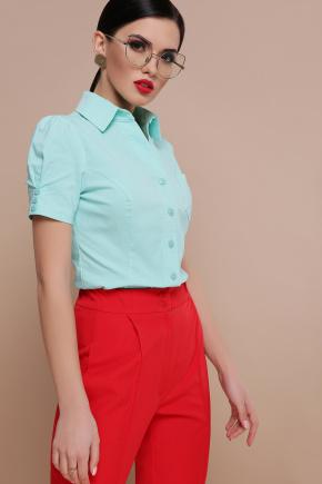блуза Эльза к/р. Цвет: мята