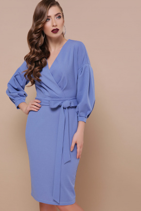 платье Одри д/р. Цвет: васильковый