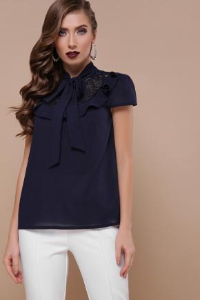 блуза Федерика к/р. Цвет: синий