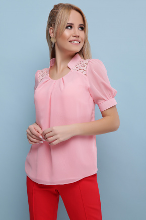 блуза Римма к/р. Цвет: персик