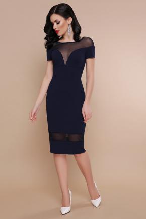 платье Владана 2 к/р. Цвет: синий