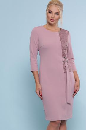 платье Делия-Б 3/4. Цвет: лиловый