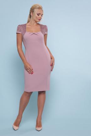 платье Юна-Б к/р. Цвет: лиловый