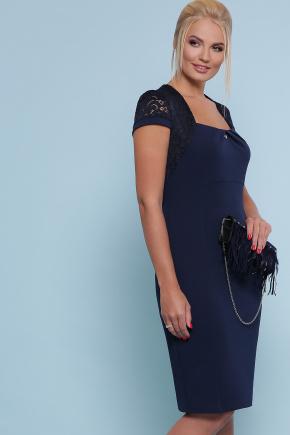 платье Юна-Б к/р. Цвет: синий