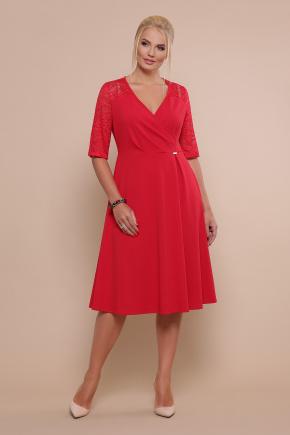 платье Ида-Б к/р. Цвет: красный