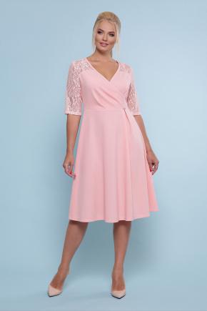 платье Ида-Б к/р. Цвет: персик