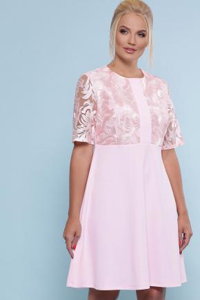 платье Герда-Б к/р. Цвет: розовый