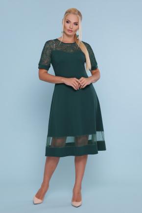 платье Аида-Б к/р. Цвет: изумруд