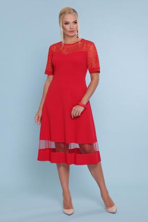 платье Аида-Б к/р. Цвет: красный