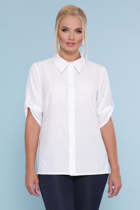 блуза Лана-Б к/р. Цвет: белый