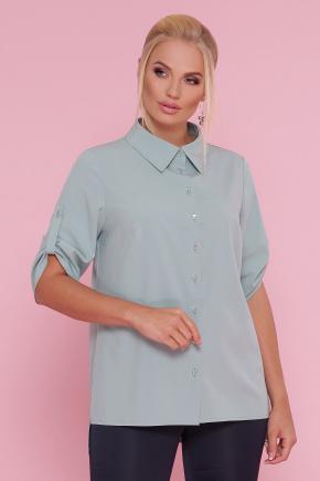 блуза Лана-Б к/р. Цвет: оливковый