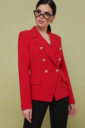 пиджак Остин. Цвет: красный