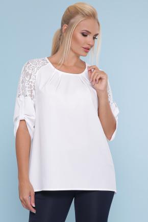 блуза Гретта-Б 3/4. Цвет: белый