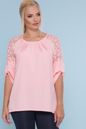 блуза Гретта-Б 3/4. Цвет: персик