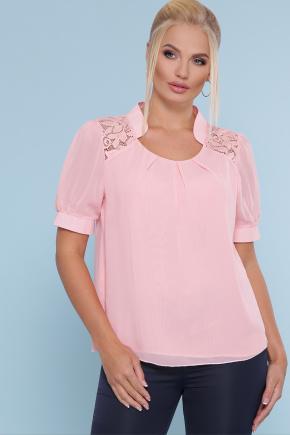 блуза Римма-Б к/р. Цвет: персик