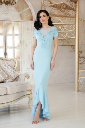 платье Наоми к/р. Цвет: голубой