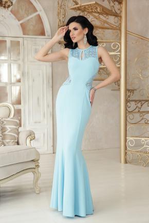 платье Азалия б/р. Цвет: голубой