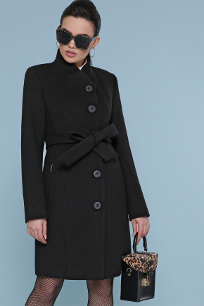 пальто П-333. Цвет: черный