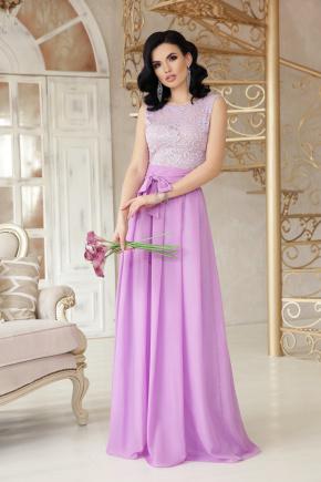 платье Анисья б/р. Цвет: лавандовый