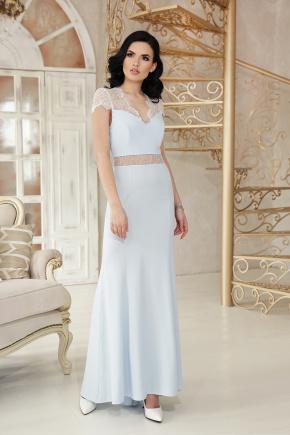 платье Алана к/р. Цвет: голубой