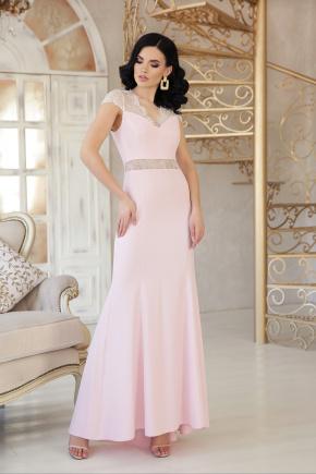 платье Алана к/р. Цвет: пудра