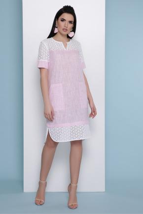 платье Сати к/р. Цвет: розовый