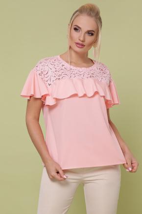 блуза Мелания-Б к/р. Цвет: персик