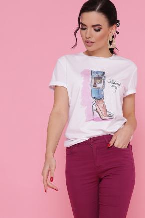 Туфли Chanel футболка Boy-2 В. Цвет: белый