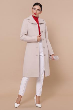 Пальто П-319-100-К. Цвет: бежевый