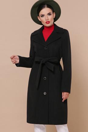 Пальто П-316-100-К. Цвет: черный