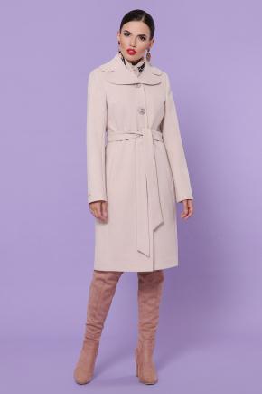 Пальто П-319-100-К. Цвет: жемчуг