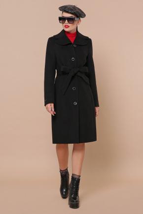 Пальто П-319-100-К. Цвет: черный