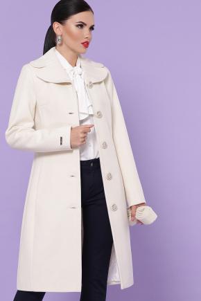 Пальто П-319-100-К. Цвет: молоко