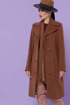 пальто П-316-100-К. Цвет: карамель