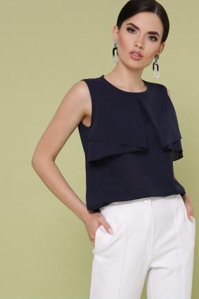 блуза Юлия к/р. Цвет: синий