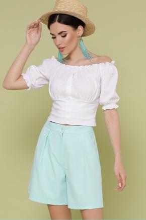 блуза Янина к/р. Цвет: белый