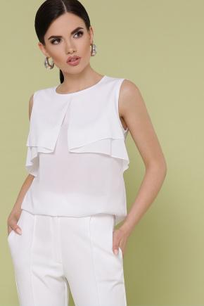 блуза Юлия к/р. Цвет: белый