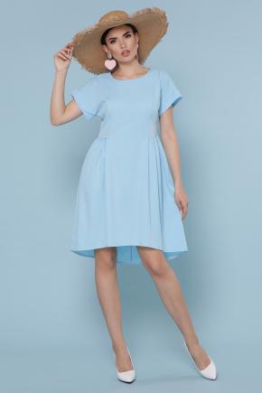 платье Вилена к/р. Цвет: голубой
