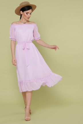 платье Устинья  к/р. Цвет: лавандовый