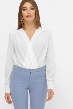блуза-боди Карен д/р. Цвет: белый